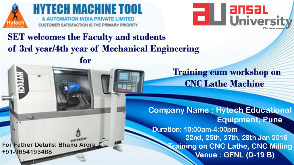 SET-CNC Training Poster