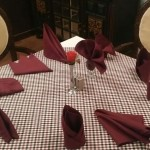 Workshop on Table Layout & Napkin Folding