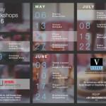 Calendar of Friday Workshops 2016