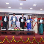 Book launch at Ansal University by the dignitaries and editors